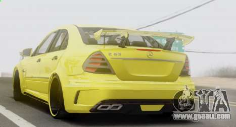 Mercedes-Benz E63 Qart Tuning for GTA San Andreas right view