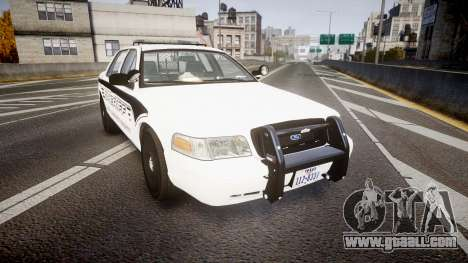 Ford Crown Victoria 2011 New Alderney Sheriff for GTA 4