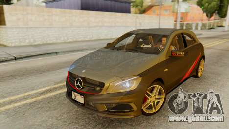 Mercedes-Benz A45 AMG 2012 PJ for GTA San Andreas engine