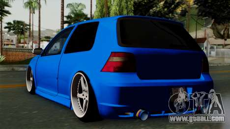 Volkswagen Golf Mk4 Stance for GTA San Andreas left view