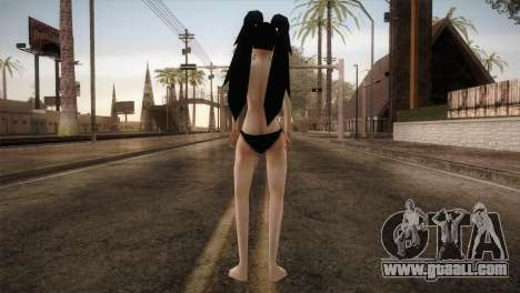 Black Hair Black Bikini Bfybe for GTA San Andreas