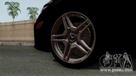 Mercedes-Benz E63 AMG Police Edition for GTA San Andreas back left view