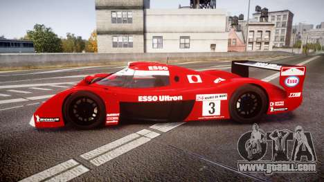 Toyota GT-One TS020 Le Mans 1999 for GTA 4 left view