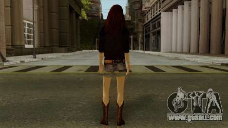 Amy Pond from Doctor Who for GTA San Andreas third screenshot