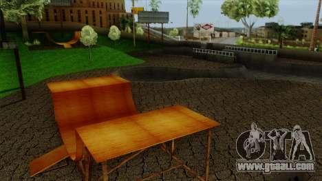 HD Skate Park for GTA San Andreas