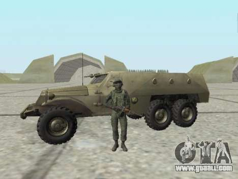 Pak fighters of special troops of GRU for GTA San Andreas eighth screenshot