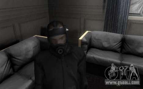 GTA5 Gasmask for GTA San Andreas