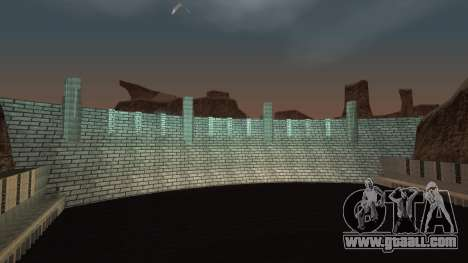 Dam for GTA San Andreas