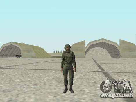 Pak fighters of special troops of GRU for GTA San Andreas ninth screenshot