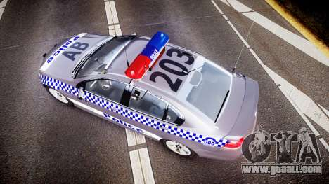 Holden VE Commodore SS Highway Patrol [ELS] for GTA 4 right view