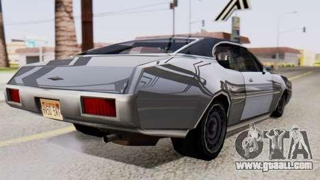 Clover Al_Piso for GTA San Andreas left view