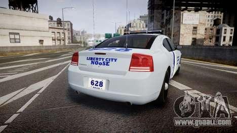 Dodge Charger NOOSE [ELS] for GTA 4 back left view