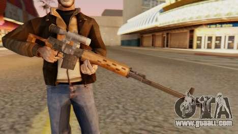 SVD SA Style for GTA San Andreas third screenshot
