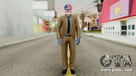 [PayDay2] Dallas for GTA San Andreas second screenshot