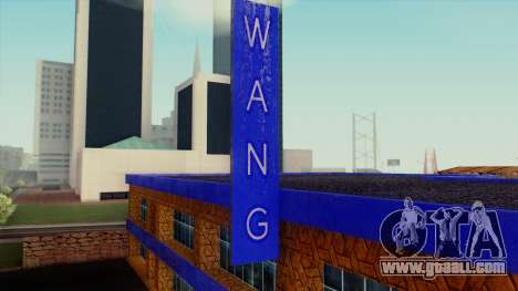 The Wang Cars Showroom for GTA San Andreas third screenshot