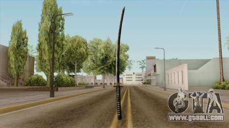Original HD Katana for GTA San Andreas third screenshot