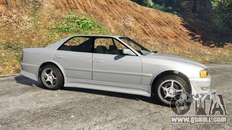 GTA 5 Toyota Chaser 1999 v0.3 left side view