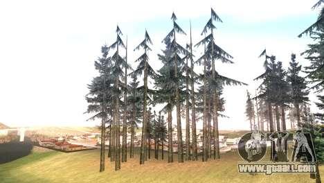 Vegetation Original Quality v3 for GTA San Andreas forth screenshot