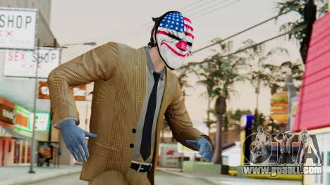 [PayDay2] Dallas for GTA San Andreas