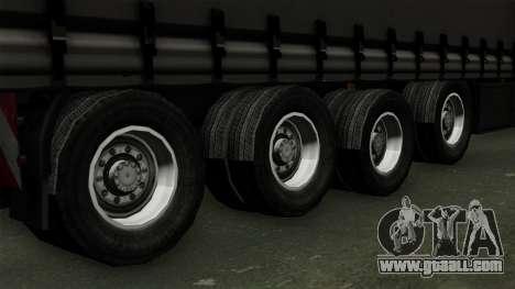 Trailer Krone Profiliner v4 for GTA San Andreas back left view