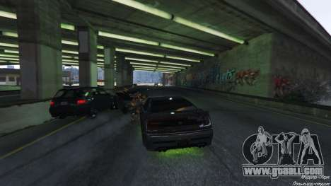 GTA 5 Death trap on the highway