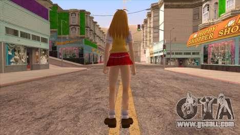 Sonsaku for GTA San Andreas third screenshot