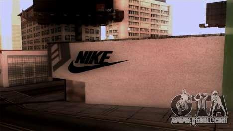 New Shop Nike for GTA San Andreas second screenshot