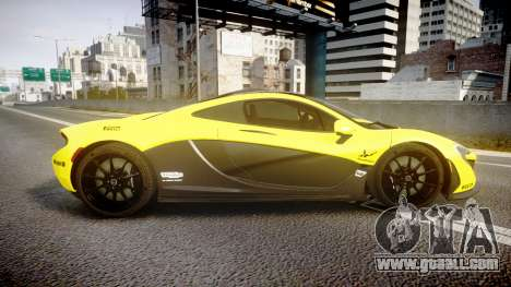 McLaren P1 2014 [EPM] Harrods GTR for GTA 4 left view