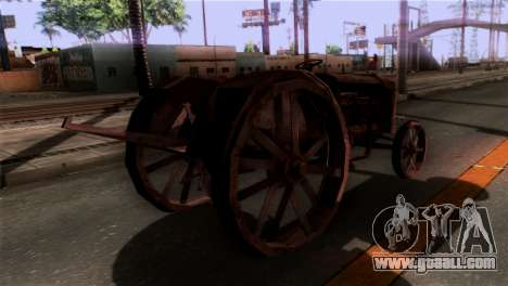 GTA 5 Rusty Tractor for GTA San Andreas left view