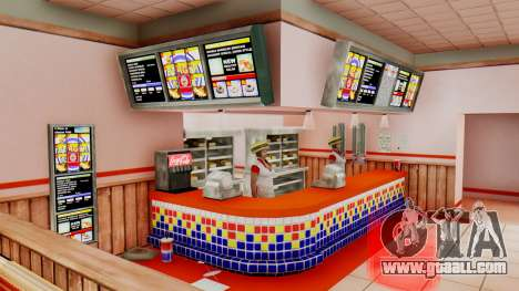 Real fast food for GTA San Andreas