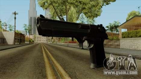 Original HD Desert Eagle for GTA San Andreas