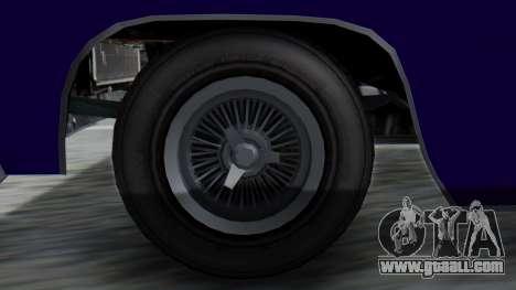 GTA 5 Declasse Voodoo IVF for GTA San Andreas back left view
