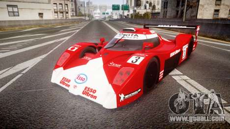 Toyota GT-One TS020 Le Mans 1999 for GTA 4