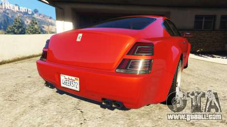 GTA 5 Enus Windsor Rolls Royce Wraith rear left side view