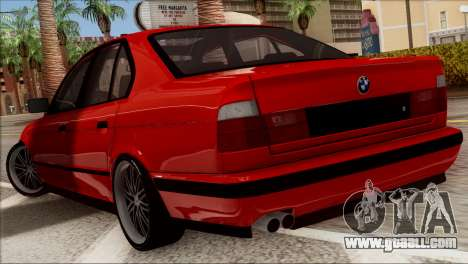 BMW M5 E34 BUFG Edition for GTA San Andreas right view