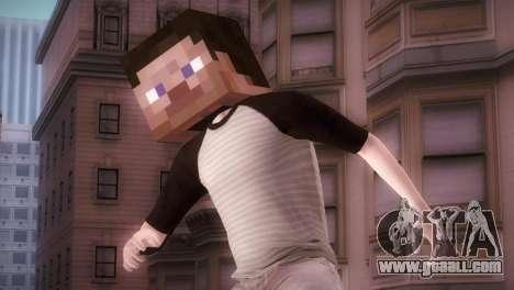 Minecraft Boy for GTA San Andreas