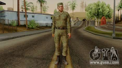 The ordinary modern Russian army for GTA San Andreas second screenshot