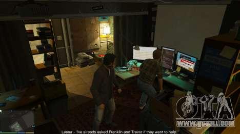 GTA 5 Story Mode Heists [.NET] 0.1.4 seventh screenshot