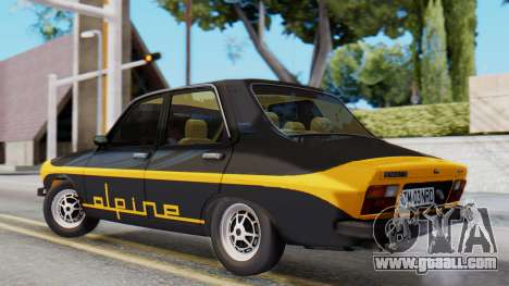 Renault 12 Alpine for GTA San Andreas left view