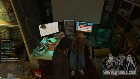 GTA 5 Story Mode Heists [.NET] 0.1.4 eighth screenshot