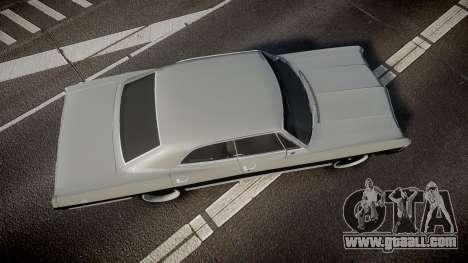 Chevrolet Impala 1967 Custom for GTA 4 right view