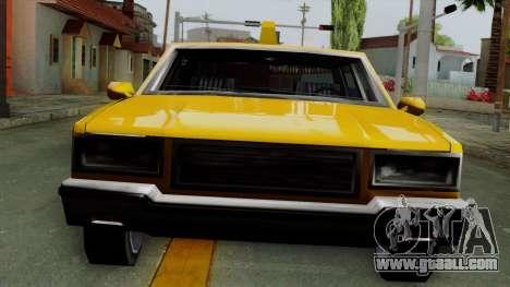 Classic Taxi Los Santos for GTA San Andreas back left view