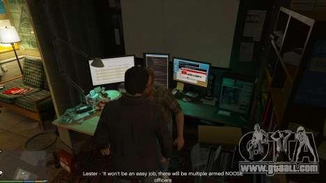 Story Mode Heists [.NET] 0.1.4 for GTA 5