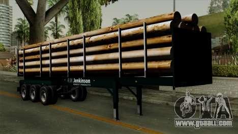 Trailer Log v2 for GTA San Andreas
