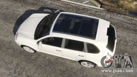 GTA 5 Porsche Cayenne Turbo S 2009 v0.7 [Beta] back view