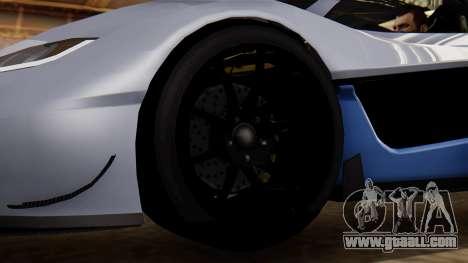 Progen T20 GTR for GTA San Andreas back left view