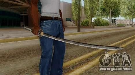 Original HD Katana for GTA San Andreas