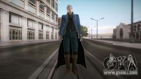 New Vergil from DMC for GTA San Andreas