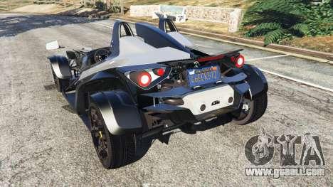 GTA 5 KTM X-Bow [Beta2] rear left side view