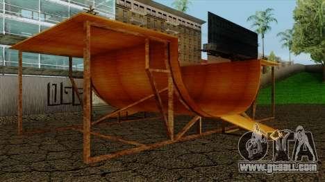 HD Skate Park for GTA San Andreas second screenshot